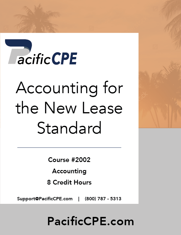 2020 New Tax Laws.Pacific Cpe